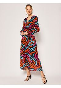 Sukienka Escada Sport na co dzień, w kolorowe wzory, casualowa, prosta