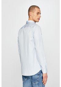 Selected - Koszula. Typ kołnierza: kołnierzyk klasyczny. Kolor: niebieski. Materiał: tkanina. Styl: klasyczny