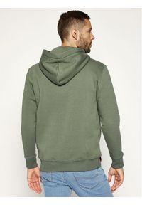 Alpha Industries Bluza Basic 178312 Zielony Regular Fit. Kolor: zielony