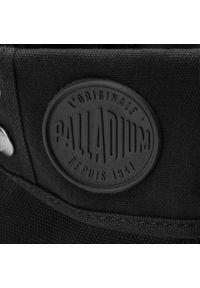 Czarne trapery Palladium klasyczne