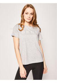 Szary t-shirt DKNY Sport sportowy