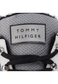 Szare baleriny TOMMY HILFIGER sportowe