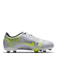 Buty dla dzieci piłkarskie Nike Mercurial Vapor 14 Academy FG/MG CV0811. Zapięcie: zamek. Materiał: skóra, materiał, syntetyk. Szerokość cholewki: normalna. Sport: piłka nożna