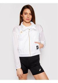 Biała kurtka przejściowa Asics