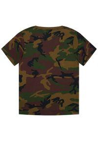 Vans T-Shirt Otw Boys VN000IVE Zielony Classic Fit. Kolor: zielony