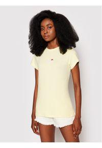 Ellesse T-Shirt Ci Tee SGJ11885603 Żółty Slim Fit. Kolor: żółty