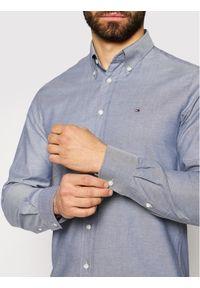 TOMMY HILFIGER - Tommy Hilfiger Tailored Koszula Oxford MW0MW16484 Szary Regular Fit. Kolor: szary