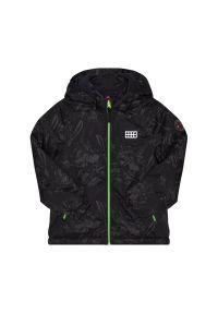 Zielona kurtka zimowa LEGO Wear