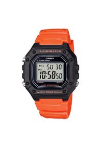 Pomarańczowy zegarek Casio
