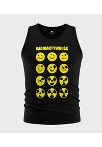 MegaKoszulki - Koszulka męska bez rękawów Radioaktywność. Materiał: bawełna. Długość rękawa: bez rękawów