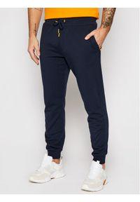 Niebieskie spodnie dresowe Guess