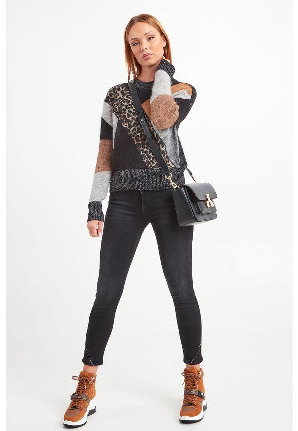 Torebka Trussardi Jeans w kolorowe wzory
