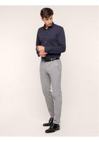 Baldessarini Koszula 41234/000/4983 Granatowy Regular Fit. Kolor: niebieski