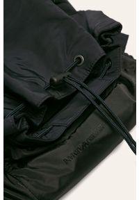 Niebieski plecak Emporio Armani