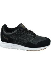 Czarne buty sportowe Asics lifestyle z cholewką