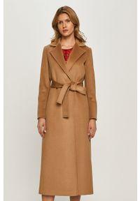Beżowy płaszcz MAX&Co. na co dzień, klasyczny