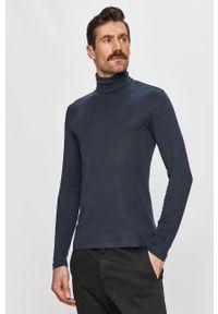 Niebieski sweter Marc O'Polo polo