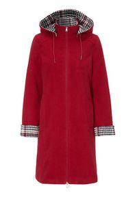 Czerwona kurtka Cellbes klasyczna, z kapturem