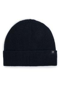 Czarna czapka zimowa Marc O'Polo