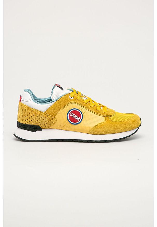 Colmar - Buty. Nosek buta: okrągły. Zapięcie: sznurówki. Kolor: żółty. Materiał: guma, syntetyk, materiał, skóra, zamsz. Szerokość cholewki: normalna