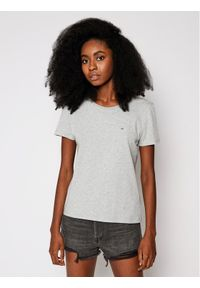 Tommy Jeans T-Shirt Tjw Original DW0DW04709 Szary Regular Fit. Kolor: szary