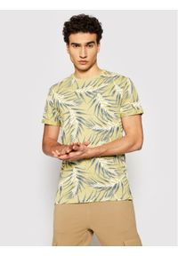 Only & Sons - ONLY & SONS T-Shirt Iason 22016762 Brązowy Slim Fit. Kolor: brązowy