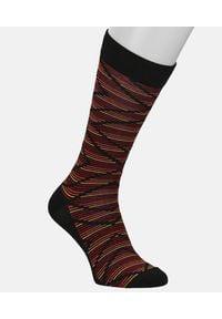 Kazar - Skarpety bawełniane męskie. Kolor: czerwony. Materiał: bawełna