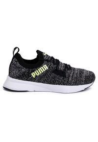 Szare buty do biegania Puma z cholewką