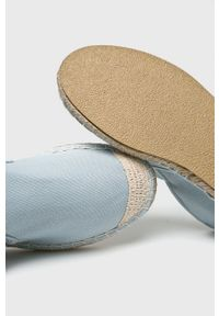 Cross Jeans - Espadryle. Nosek buta: okrągły. Kolor: niebieski