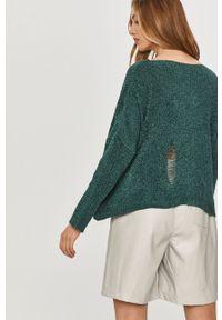 Zielony sweter Answear Lab wakacyjny