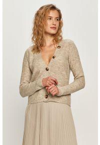 Sweter rozpinany Vila z długim rękawem, długi, casualowy, na co dzień