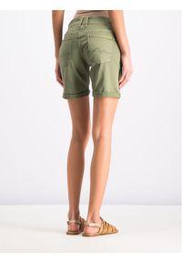 Zielone szorty jeansowe Pepe Jeans
