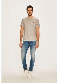 Wielokolorowy t-shirt Levi's® na co dzień, w kolorowe wzory, biznesowy