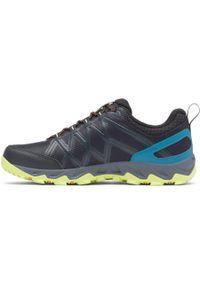 Czarne buty trekkingowe columbia
