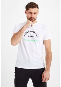 Karl Lagerfeld - T-SHIRT KARL LAGERFELD. Styl: elegancki