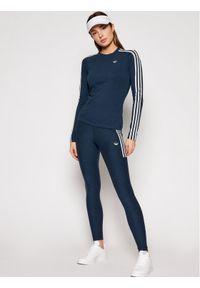 Adidas - adidas Legginsy Fakten Tights GN4400 Granatowy Slim Fit. Kolor: niebieski #3