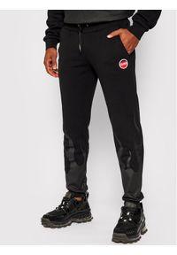 Colmar Spodnie dresowe Mood 9723 6UX Czarny Regular Fit. Kolor: czarny. Materiał: dresówka