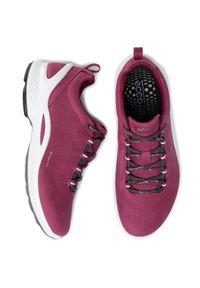 Różowe buty sportowe ecco z cholewką, na co dzień