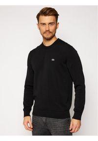 Czarny sweter klasyczny Lacoste