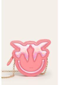 Różowy portfel Pinko