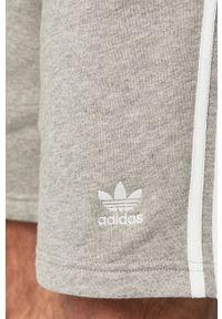 Szare szorty adidas Originals gładkie, casualowe, na co dzień