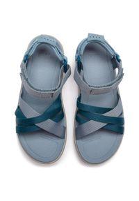 Niebieskie sandały trekkingowe Teva