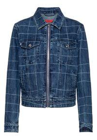 Niebieska kurtka jeansowa Hugo