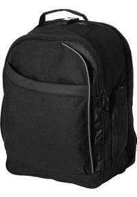 Czarny plecak na laptopa Upominkarnia