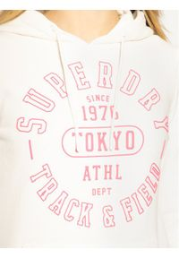 Biała bluza Superdry