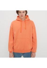 House - Bluza oversize z kapturem - Pomarańczowy. Typ kołnierza: kaptur. Kolor: pomarańczowy