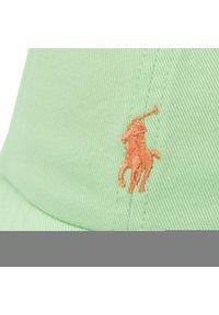 Polo Ralph Lauren - Czapka z daszkiem POLO RALPH LAUREN - Classics II 320785653012 Green. Kolor: zielony. Materiał: bawełna, materiał