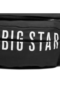 Big-Star - Saszetka nerka BIG STAR - HH574093 Black. Kolor: czarny. Materiał: skóra