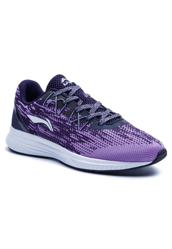 Fioletowe buty do biegania Li-Ning z cholewką