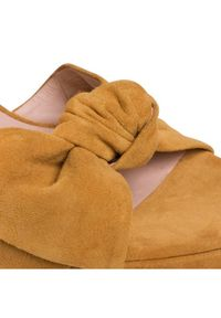 Żółte sandały Gino Rossi #6